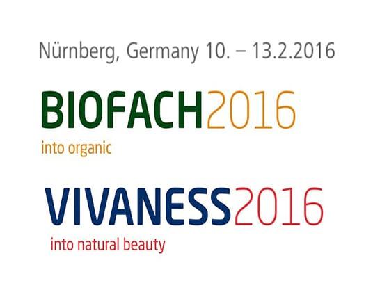 BioFach 2016 e Vivaness conquistano Norimberga: oltre 48mila i visitatori
