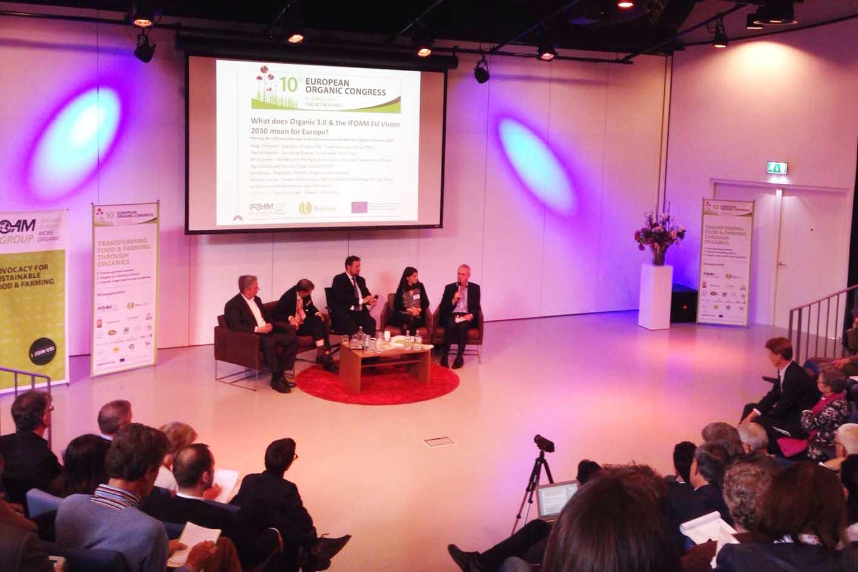 Suolo e Salute al 10° Congresso europeo del biologico