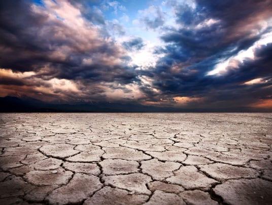 Siccità 2017: mai così poca pioggia in 200 anni