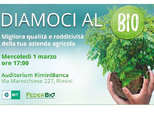 Primo Marzo: appuntamento a Rimini e Roma con la formazione per il settore bio