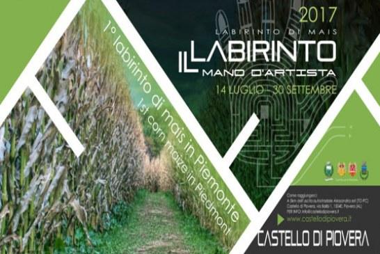 Labirinto di mais biologico per perdersi e ritrovarsi