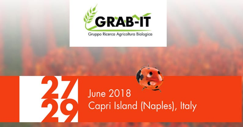 Workshop internazionale Grab-it sull'agricoltura biologica