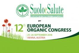SUOLO E SALUTE è sponsor del 12th EUROPEAN ORGANIC CONGRESS