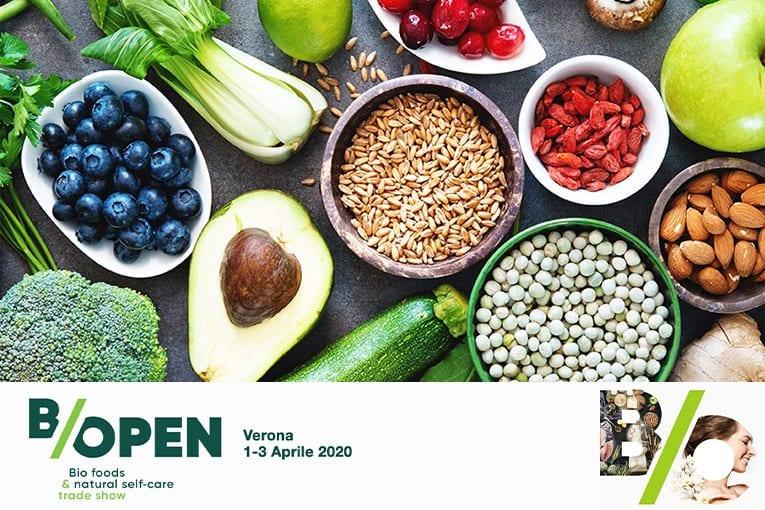 B/Open: da aprile 2020 una nuova fiera sul biologico
