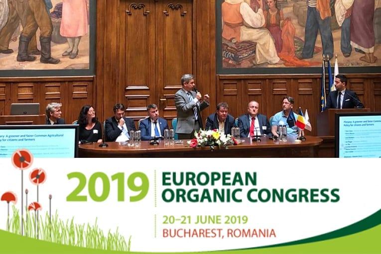 Il 13th European Organic Congress 2019 si chiuderà oggi a Bucarest. Suolo e Salute sponsor dell'evento.