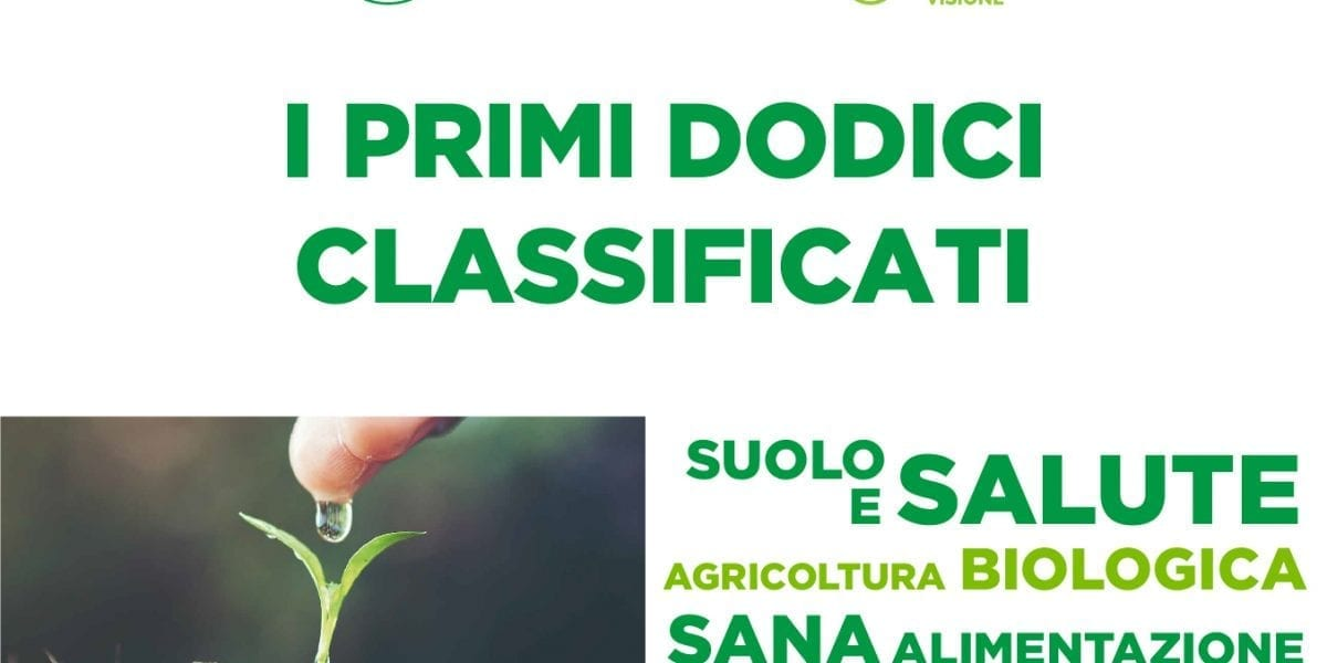 CONTEST SUOLO E SALUTE: I PRIMI DODICI CLASSIFICATI