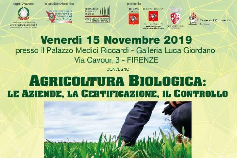 CONVEGNO AGRICOLTURA BIOLOGICA: LE AZIENDE, LA CERTIFICAZIONE, IL CONTROLLO