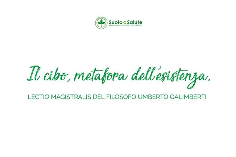 50° Suolo e Salute: la lectio magistralis di Umberto Galimberti