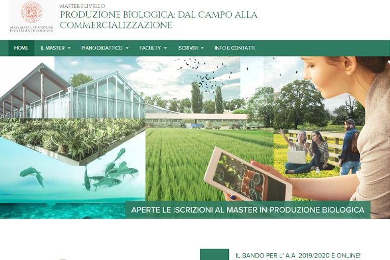 """""""Produzione biologica: dal campo alla commercializzazione"""", il master dell'agricoltura biologica"""