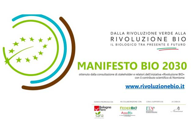 RIVOLUZIONE BIO 2020 AL SANA RESTART