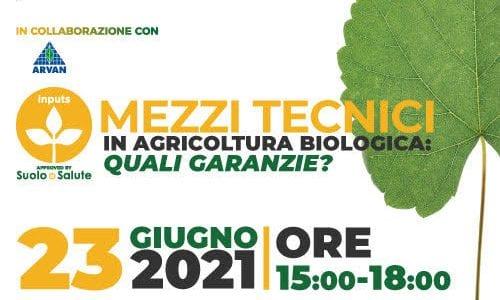 MEZZI TECNICI IN AGRICOLTURA BIOLOGICA: QUALI GARANZIE?